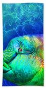 Parrotfish - Rainbow Spirit Beach Towel