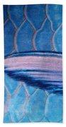 Parrotfish Scales Beach Towel