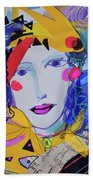 Party Time Collage Beach Towel
