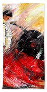 Passion And Motion Beach Towel by Miki De Goodaboom