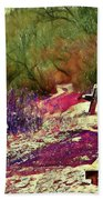 Passion Colors Everything  Beach Towel