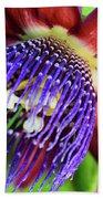 Passion Flower Ver. 11 Beach Towel