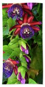 Passion Flower Ver. 16 Beach Towel