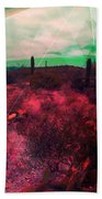 Passion In The Desert Beach Towel by MB Dallocchio