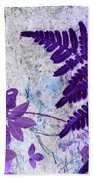 Passion Of Purple Beach Towel
