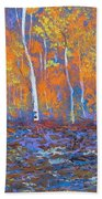 Passions Of Fall Beach Towel