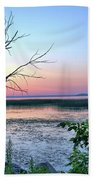Pastel Clear Lake 3 Beach Towel