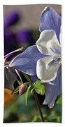 Pastel Spring Flowers Beach Towel