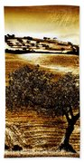 Pastelero Textures Beach Towel