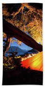 Patagonia Landscape Camping Beach Towel