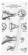 Patent Drawing For The 1962 Illuminating Means For Medical Instruments By W. C. More Etal Beach Towel
