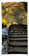 Path In Plitvice Beach Sheet