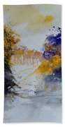 Path To ... Watercolor  Beach Towel