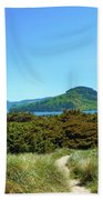 Footpath To Nestucca River Beach Towel