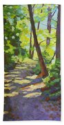 Path To The Lake Beach Towel