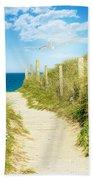 Path To The Ocean Beach Towel