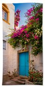 Patmos Bougainvillea Beach Towel