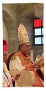 Patriarch Fouad Twal Beach Towel