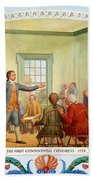 Patrick Henry, First Continental Beach Towel