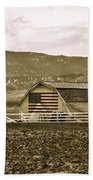 Patriotism And Barn Beach Towel