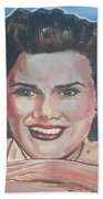 Patsy Cline Beach Towel