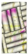 Pattern Tiles Abstract Beach Towel