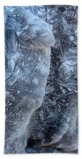 Patterned Ice Beach Towel