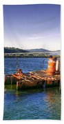 Patterson Bridge Oregon Beach Towel