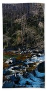 Patuxent River Trout Fisher Beach Towel