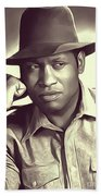 Paul Robeson, Vintage Actor And Singer Beach Towel