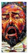 Pavarotti Beach Sheet