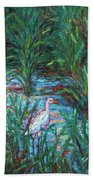 Pawleys Island Egret Beach Towel