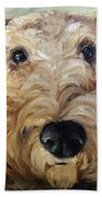 Paying Close Attention Beach Towel