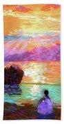 Peace Be Still Meditation Beach Sheet