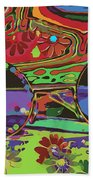 Peace Art Beach Towel by Eleni Mac Synodinos