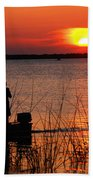 Peace Over The Water Beach Towel