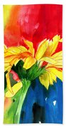 Peace Square Beach Towel