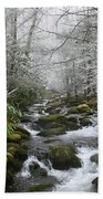 Peaceful Flow Beach Towel