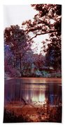 Peaceful In Infrared No1 Beach Towel