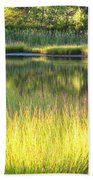 Peaceful Marsh Beach Towel