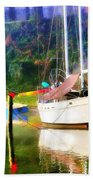 Peaceful Morning In The Cove Beach Towel