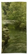 Peaceful River Beach Towel