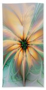 Peach Allure Beach Towel
