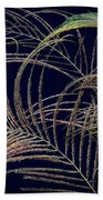 Peacock Feathers -1 Beach Towel