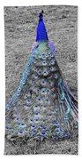 Peacock Plumage Beach Towel