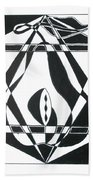 Pear Square Beach Towel