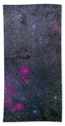 Pearl Cluster And Lambda Centauri Beach Towel