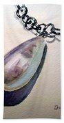 Pearl Beach Towel by Irina Sztukowski