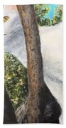Pearl Up A Tree Beach Towel