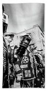 Pearly Kings And Queens Of London Hoxton Brick Lane Beach Towel